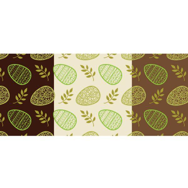 Трафаретный лист-пленка ДЕКОРШОК ЯЙЦА зеленые 76425