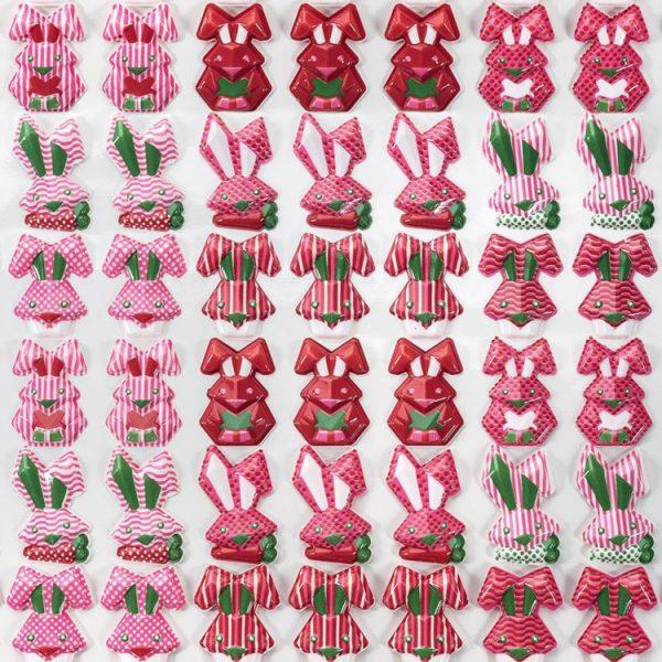 Форма-лист для декора БЛИСТЕРШОК лист 340×265 T857 Зайчики