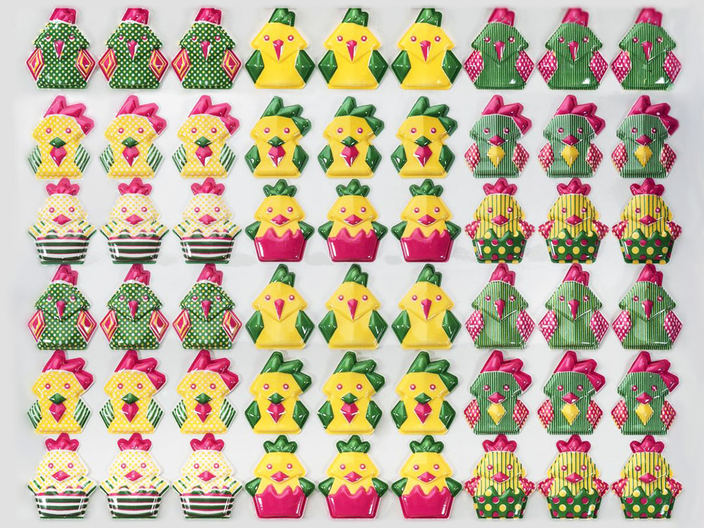Форма-лист для декора БЛИСТЕРШОК лист 340x265 T856