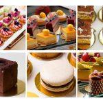 Примеры десертов на подложках