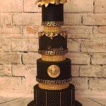 Стильный торт на черной подложке_2