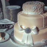 Свадебный торт на подложке_1