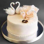 Свадебный торт на подложке_2