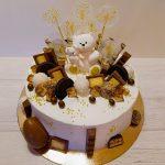 Торт на золотой подложке_1