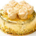 Торт на золотой подложке_2