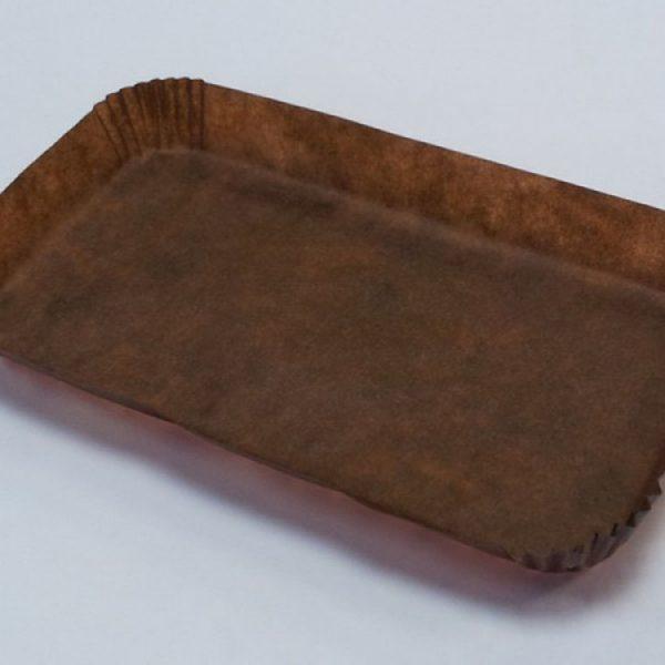 Капсула бумажная Прямоугольник коричневая R2