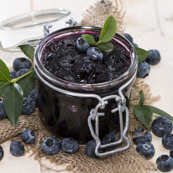 Начинка фруктовая термостабильная ЧЕРНИКА с кусочками натуральных ягод