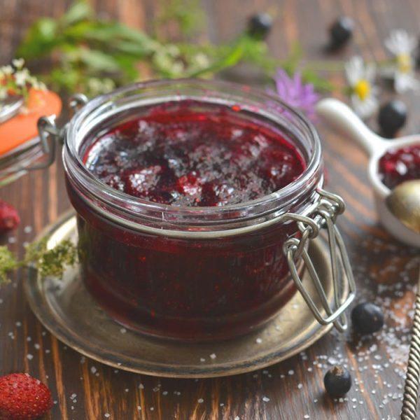Начинка фруктовая термостабильная ЛЕСНЫЕ ЯГОДЫ с кусочками ягод