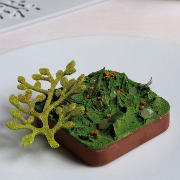 Форма силиконовая для десертов 80x55 h2 GG030 BONSAI Карликовое дерево Бонсай_3