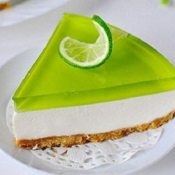 Желейный торт_лаймовый