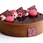 Dekorativnoe-ukrashenie-iz-shokolada-35x35-kvadrat-34506-Rozovye-tochki_variant-dekora