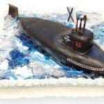 Торт Подводная лодка из мастики_1-новость