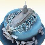 Торт Подводная лодка из мастики_2-новость