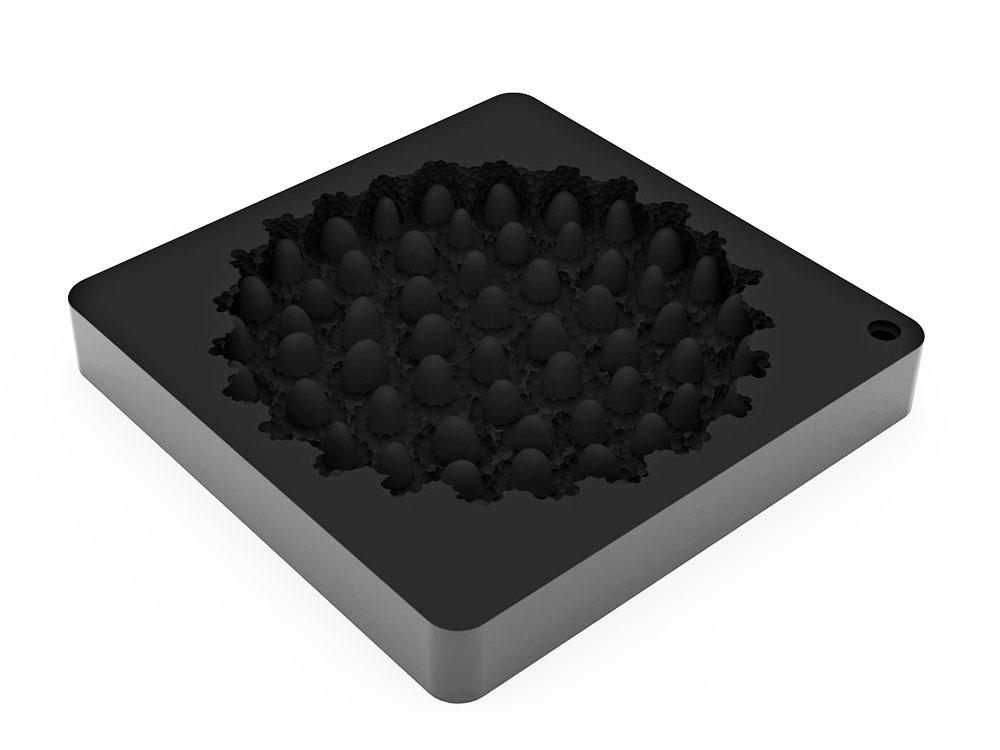 Форма силиконовая для муссовых изделий d180 h22 TOP27 RASPBERRY МАЛИНА_форма1