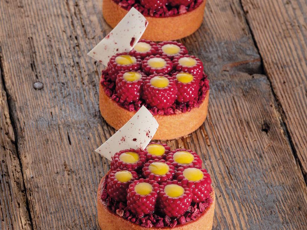 Форма силиконовая для муссовых изделий d62 h21 TOP23 RASPBERRY mini_десерты2