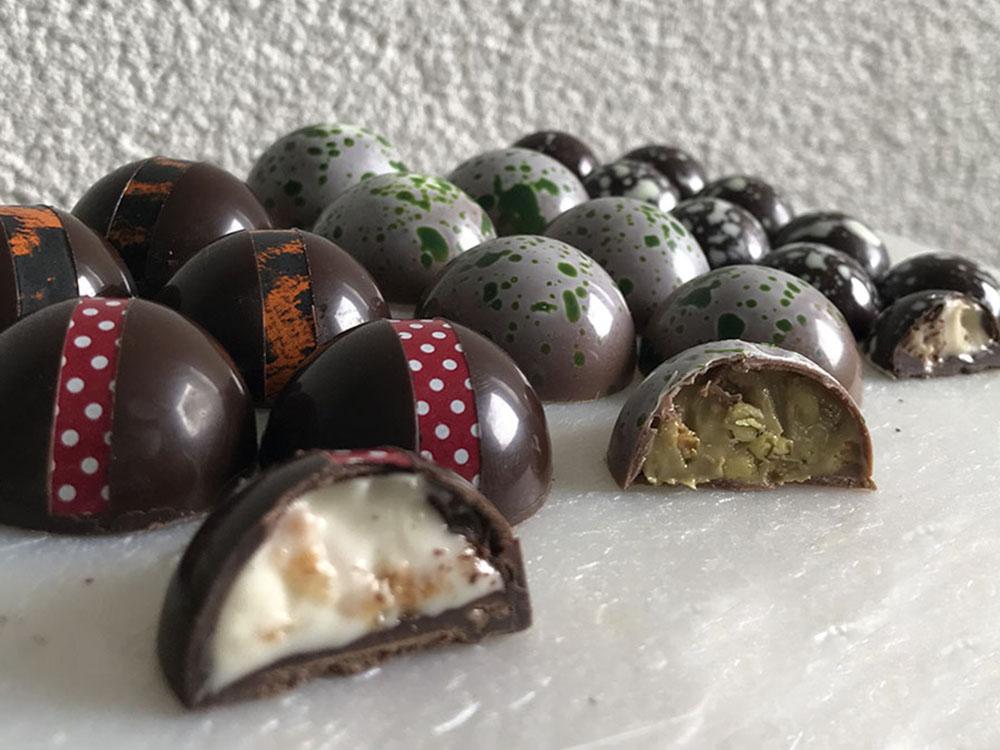 Шоколадные конфеты своими руками_новость