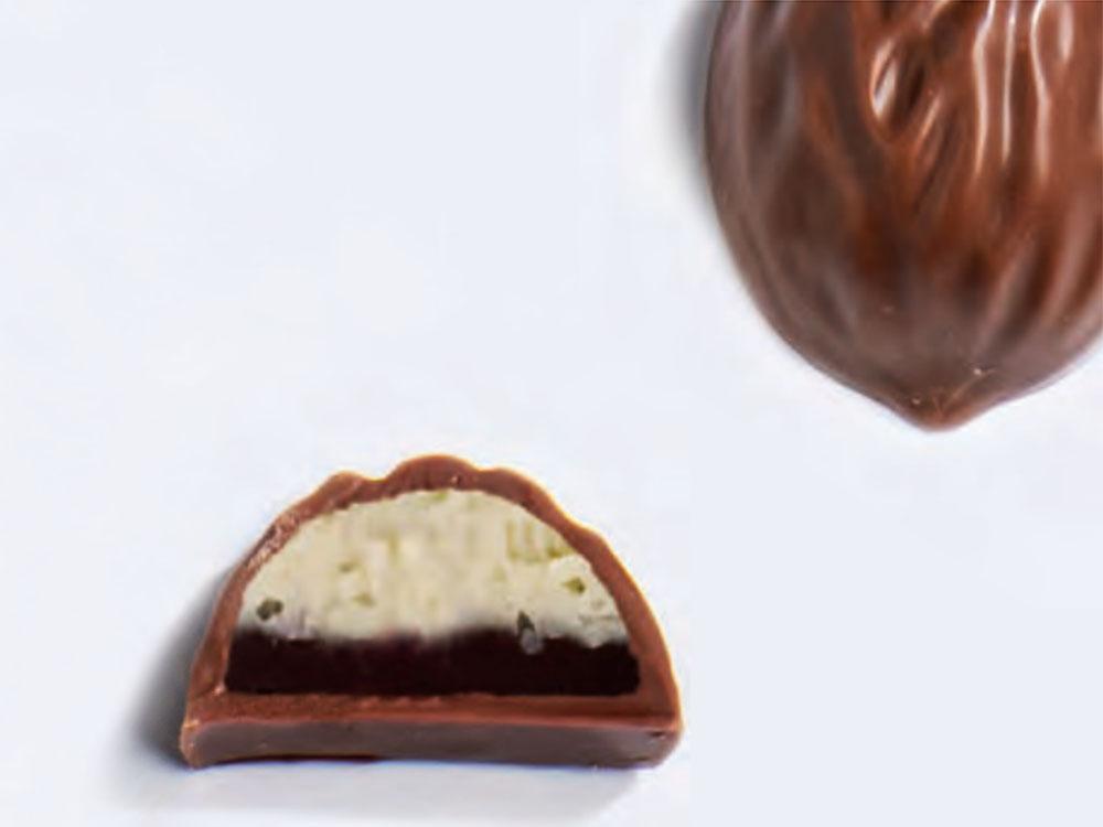 Форма для конфет 37×29 h17.5 MA1035 Грецкий орех_конфеты