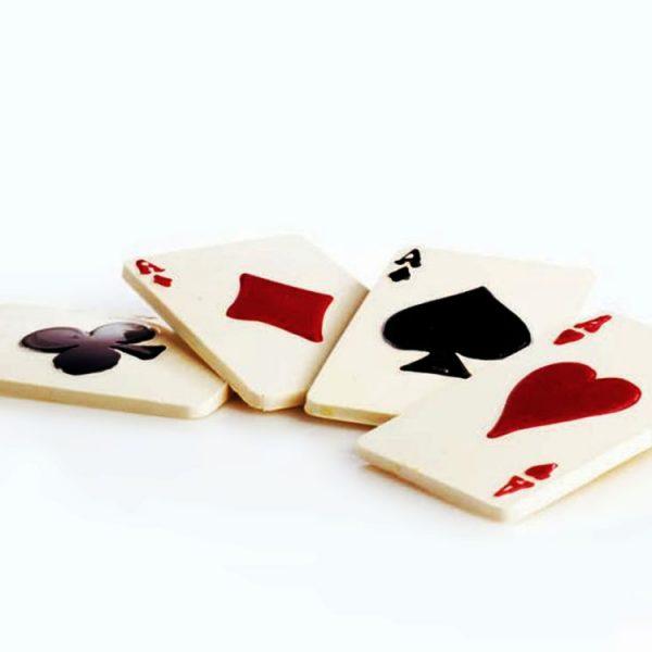 Форма для конфет 55 x 90 h5 20PC01 Игральные карты