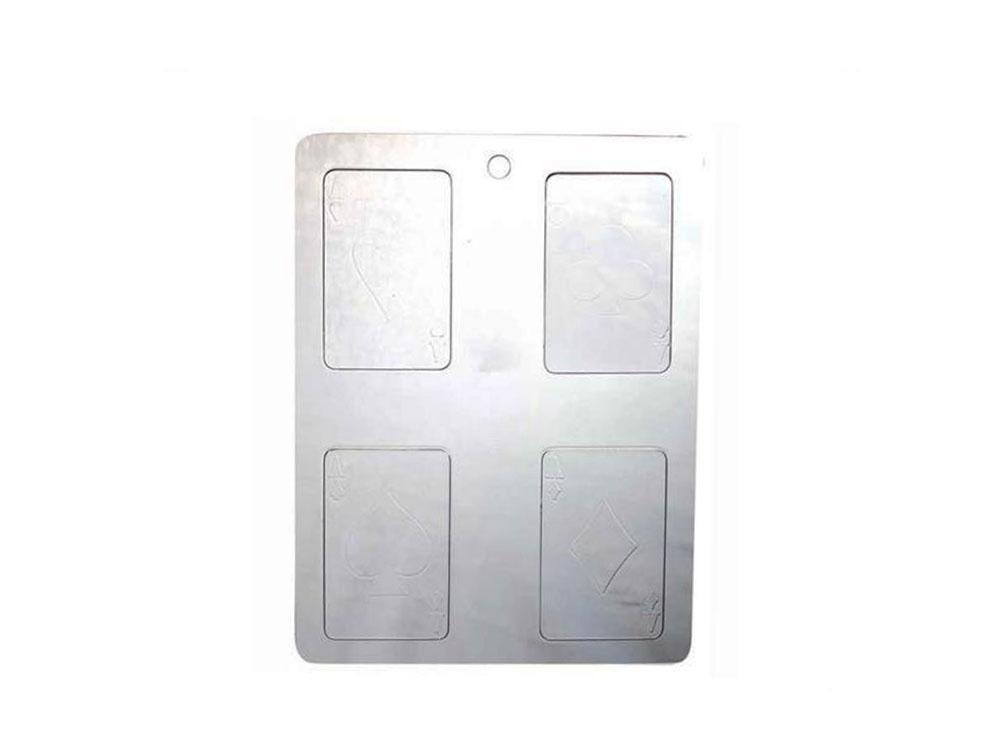 Форма для конфет 55 x 90 h5 20PC01 Игральные карты_форма