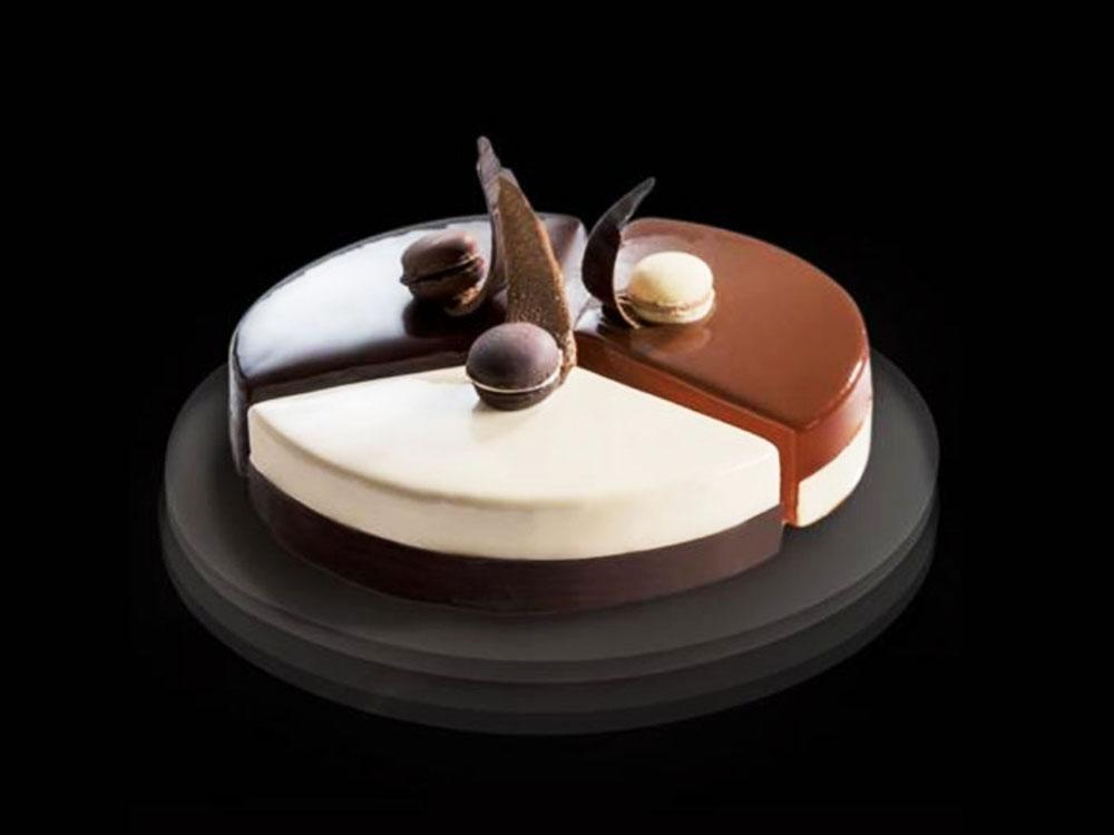 Форма для тарты модульная из нержавеющей стали d180 h40 32H4X18S круглая_Десерт