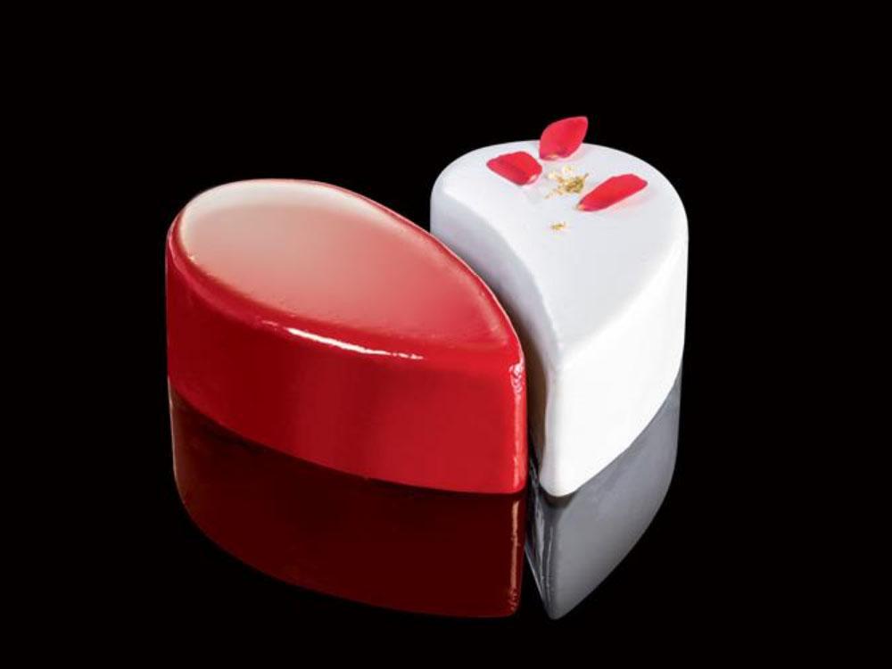 Форма для тарты модульная из нержавеющей стали d180 h40 35H4X14S Сердце_Десерт