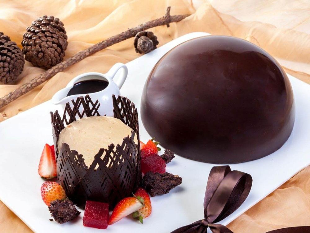 Шоколад натуральный Bay Scagliette Fondenti (Бай Скальетте Фонденти) крошка_десерт