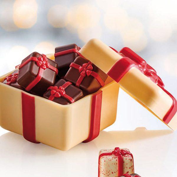 Форма для шоколада 80x80 h69 20PR01 Шоколадный подарок