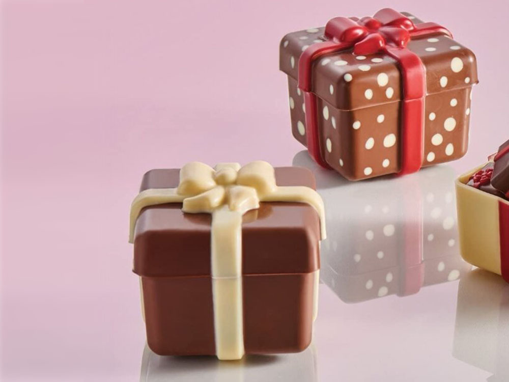 Форма для шоколада 80x80 h69 20PR01 Шоколадный подарок_1