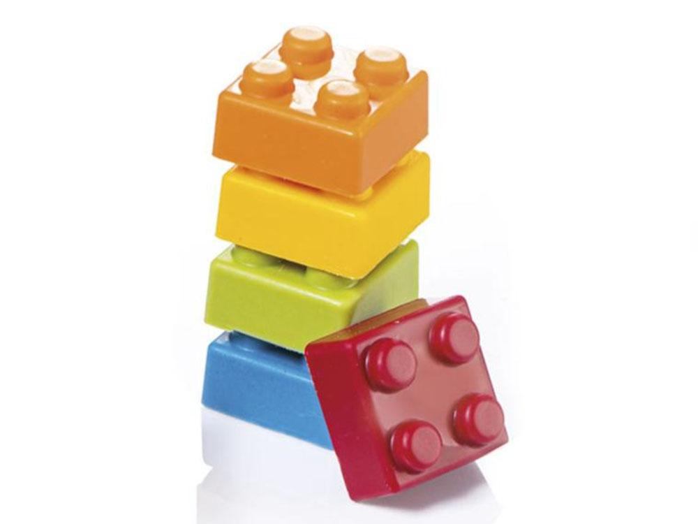 Форма для конфет 25x25 h18 MA1020 Кубики Лего