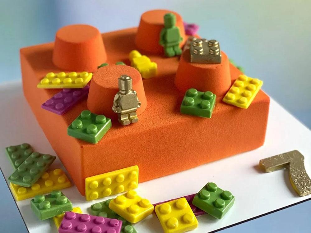 Форма для конфет 25x25 h18 MA1020 Кубики Лего_Торт