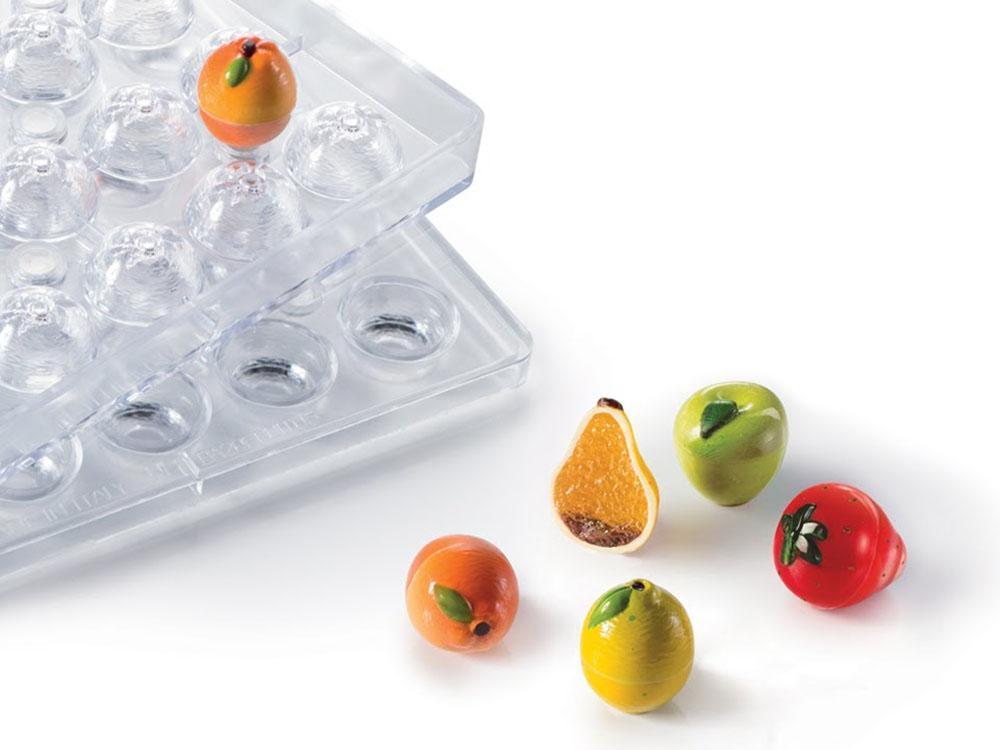 Формы для конфет Choco fruit